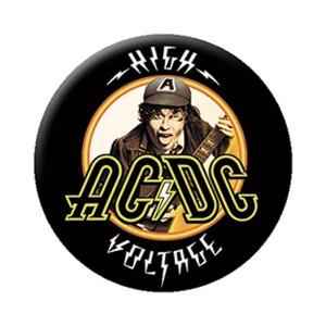 """AC/DC High Voltage 1.25"""" Button"""
