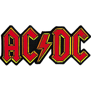 "AC/DC Logo 8"" Oversized Patch"