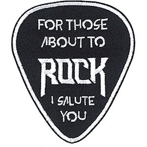 "AC/DC I Salute You 2.7""x3.2"" Patch"