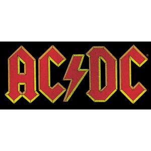 AC/DC Logo Glitter Sticker