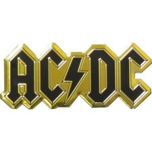 "AC/DC Logo 3.5"" Metal Sticker"