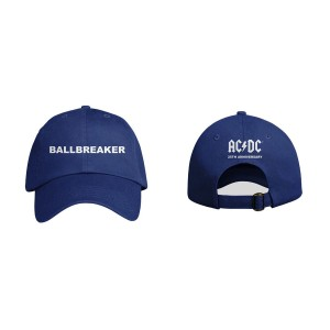 AC/DC Ballbreaker 25th Anniversary Blue Hat