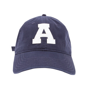 "AC/DC Angus ""A"" Schoolboy Navy Hat"