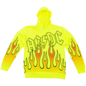 AC/DC Flames Pullover Hoodie