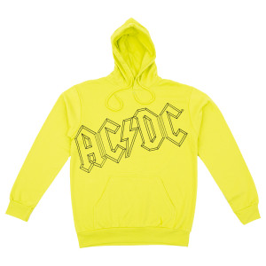 AC/DC Yellow Pullover Hoodie