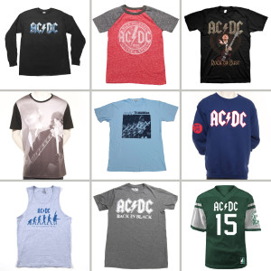 AC/DC Men's Rockware Grab Bag