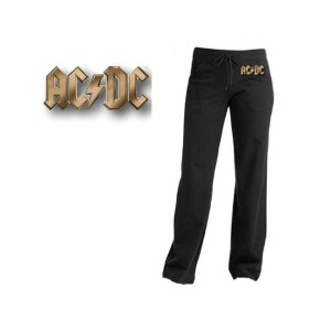 AC/DC Gold Logo Yoga Pants
