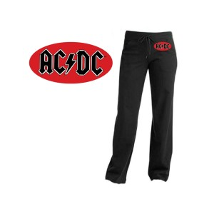 AC/DC Oval Logo Yoga Pants