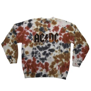 Acid Wash Logo Crew Neck