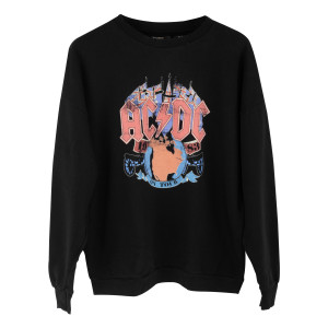 AC/DC 1983 Tour Black Sweatshirt