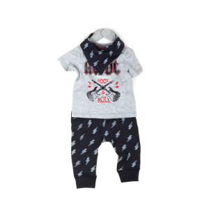 AC/DC Rock & Roll Kids Pajama Set