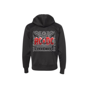 Black Ice Front Logo Hoodie