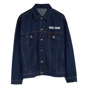 Fly On The Wall Personalized Jean Jacket