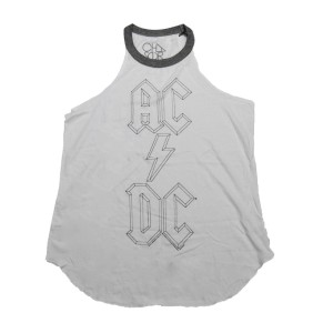 AC/DC Stacked Logo Tunic