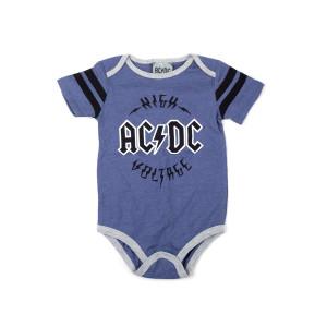 AC/DC High Voltage Logo Onesie