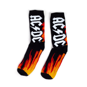 AC/DC Logo Socks