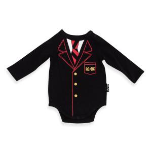 AC/DC Schoolboy Baby Onesie