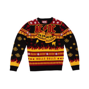 AC/DC - Hells Bells Ugly Christmas Sweater