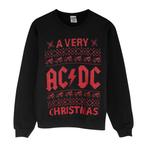 A Very AC/DC Christmas Sweatshirt