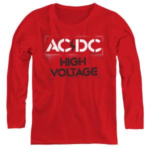High Voltage Stencil Womens Logo