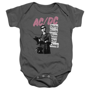 Dirty Deeds Infant Snapsuit