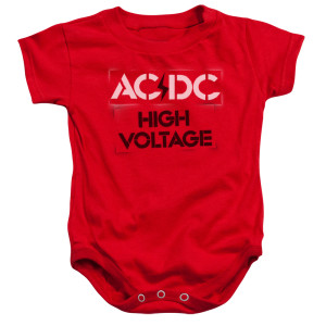 High Voltage Infant Snapsuit