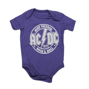 High Voltage Rock & Roll Onesie