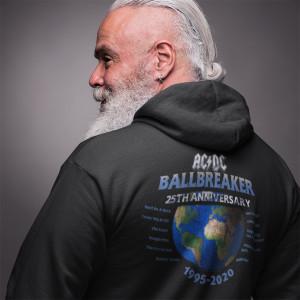 AC/DC Ballbreaker 25th Anniversary Zip Hoodie