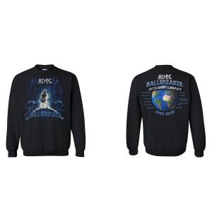AC/DC Ballbreaker 25th Anniversary Crewneck Sweatshirt