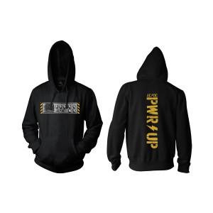 PWR UP Knobs Black Pullover Hoodie