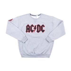 AC/DC Logo Grey Sweatshirt