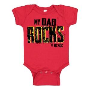 Dad Rocks Onesie