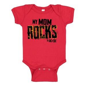 Mom Rocks Onesie