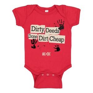 Dirty Hands Onesie