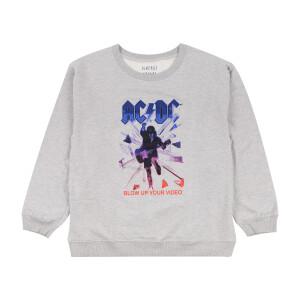 AC/DC Blow Up Your Video Graphic Sweatshirt