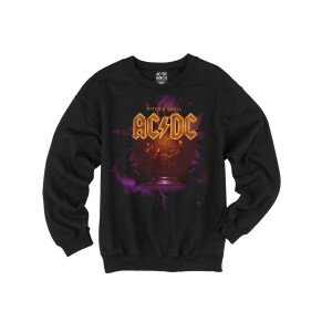AC/DC Witch's Spell Crystal Ball Crew Neck