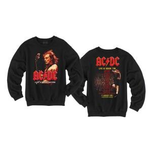 AC/DC Live at Donington Crewneck Sweatshirt
