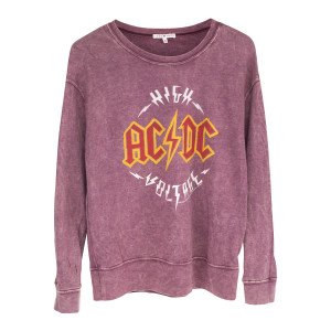 AC/DC Purple Sweatshirt High Voltage