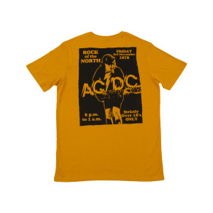 AC/DC Powerage Rock of the North '78  T-shirt
