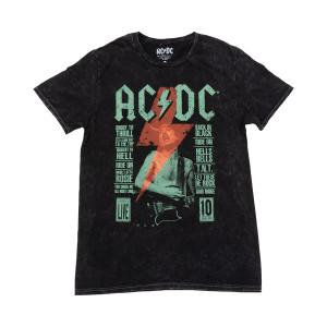 AC/DC Angus Song List T-shirt