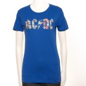 Blue Ladies Icon T-Shirt