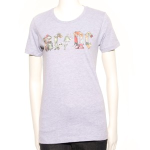 Grey Ladies Icon T-Shirt