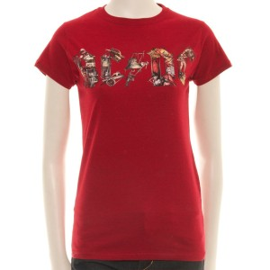 Red Ladies Icon T-Shirt