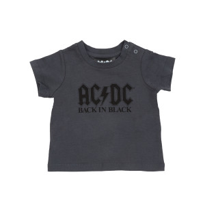 AC/DC Back in Black Grey Kids Shirt