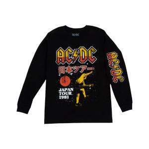 AC/DC Japan Tour 1981 Longsleeve T-shirt