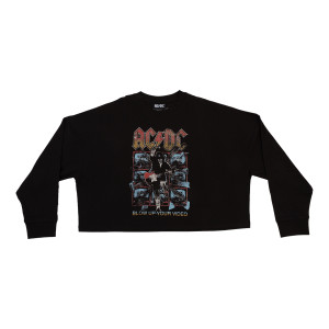 AC/DC Blow Up Your Video Longsleeve Tee