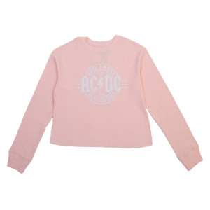 AC/DC For Those About to Rock Longsleeve Cropped Tee