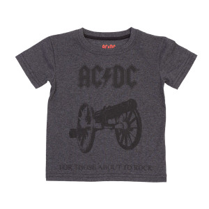 AC/DC For Those About To Rock Cannon Toddlers Tee