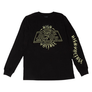 ACDC High Voltage LS Crew Neck T-shirt