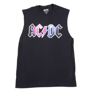 AC/DC Galaxy Logo Sleeveless T-shirt